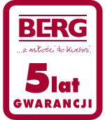 BERG - 5 lat gwarancji
